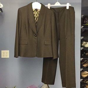 Tahari Other - Tahari Brown Suit